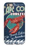Cape Cod, Massachusetts - Lobster iPhone 6s Case by  Lantern Press