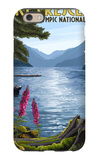 Olympic National Park, Washington - Lake Crescent iPhone 6s Case by  Lantern Press