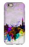Taipei Watercolor Skyline iPhone 6 Case by  NaxArt