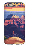 Grand Canyon National Park - Bright Angel Point iPhone 6 Case by  Lantern Press