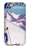 Jasper National Park, Canada - Woman Posing Open Slopes Poster iPhone 6 Case by  Lantern Press