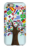 Flags Of The World Tree iPhone 6 Case by  cienpies