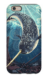Narwhal iPhone 6s Case by  Lantern Press