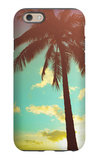 Retro Styled Hawaiian Palm Tree iPhone 6 Case by Mr Doomits