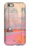 Couple on Park Bench iPhone 6 Case