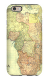 1922 Africa Map with portions of Europe and Asia iPhone 6 Case