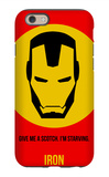 Iron Poster 1 iPhone 6s Case by Anna Malkin