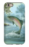 Rainbow Trout Jumping iPhone 6 Case