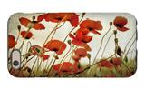 Orange Flower Patch iPhone 6s Case by Mia Friedrich