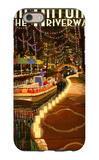 The Riverwalk - San Antonio, Texas iPhone 6s Case by  Lantern Press