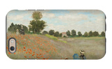 Poppy Field, Near Argenteuil, c.1873 iPhone 6 Case by Claude Monet