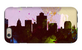 Salt Lake City Skyline iPhone 6s Case by  NaxArt