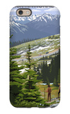 Glacier National Park - Going to the Sun Road and Hikers iPhone 6 Case by  Lantern Press