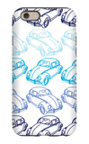 Blue Bug iPhone 6 Case by  Avalisa