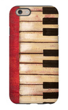 Piano Keys iPhone 6 Case by  Hakimipour-ritter