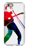 Elvis Watercolor iPhone 6 Case by Lora Feldman