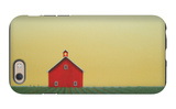 Barn Yellow Sky iPhone 6 Case by Sharon France