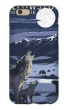 Lamar Valley Scene, Yellowstone National Park iPhone 6 Case by  Lantern Press