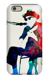 Johnny Lee Hooker Watercolor iPhone 6 Case by Lora Feldman