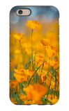 Riverside Poppies iPhone 6 Case by Vincent James