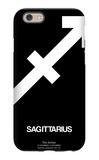 Sagittarius Zodiac Sign White iPhone 6 Case by  NaxArt