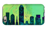 Indianapolis City Skyline iPhone 6 Case by  NaxArt