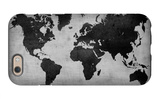 World  Map 8 iPhone 6 Case by  NaxArt