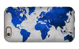 World  Map 10 iPhone 6 Case by  NaxArt