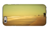 Golden Beach Landscape iPhone 6 Case by Jan Lakey