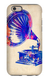 Gramophone 2 iPhone 6 Case by  NaxArt