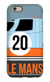 Le Mans Poster 2 iPhone 6 Case by Anna Malkin