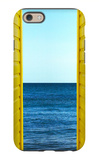 2 Yellow Beach Huts iPhone 6 Case by Andy Bell