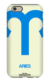 Aries Zodiac Sign Blue iPhone 6s Case by  NaxArt