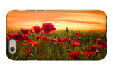 Red iPhone 6 Case by Marco Carmassi