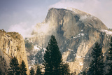 Half Dome and Wispy Clouds in Late Afternoon, Yosemite Valley Photographic Print by Vincent James