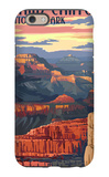 Grand Canyon National Park - Mather Point iPhone 6 Case by  Lantern Press