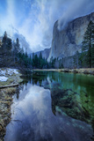 Clearing Storm at El Capitan, Yosemite Valley, California Photographic Print by Vincent James