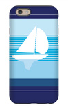 Navy Sail iPhone 6 Case by  Avalisa