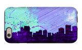 Anchorage City Skyline iPhone 6 Case by  NaxArt