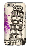 Tower of Pisa in Pen iPhone 6 Case by Morgan Yamada