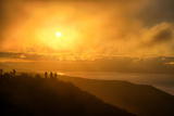 I'm On Fire, Misty Sun at Marin Headlands, San Francisco Photographic Print by Vincent James