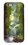 Muir Woods National Monument, California - Pathway iPhone 6 Case by  Lantern Press