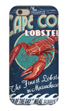 Cape Cod, Massachusetts - Lobster iPhone 6 Case by  Lantern Press