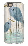 Blue Heron Duo iPhone 6 Case by Arnie Fisk