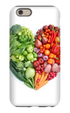 Green And Red Healthy Food iPhone 6 Case by  ifong