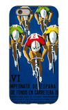 Bicycle Race Promotion iPhone 6 Case by  Lantern Press