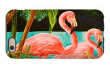 Hot Tropical Flamingo II iPhone 6 Case by Linda Baliko