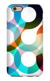 Rainbow Circles iPhone 6 Case by  VolsKinvols