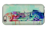 Ferrari Testa Rossa Watercolor 2 iPhone 6 Case by  NaxArt