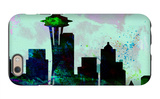 Seattle City Skyline iPhone 6 Case by  NaxArt